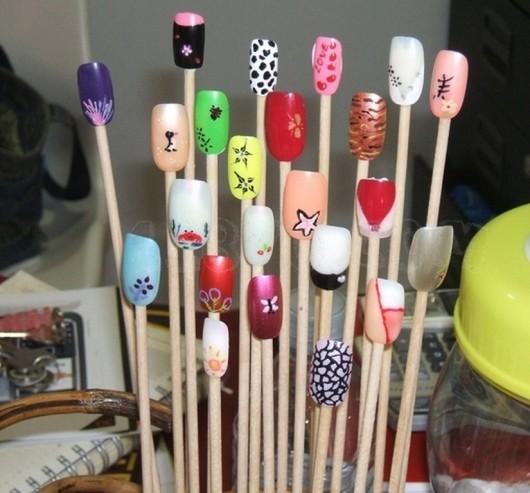 muestrario uñas