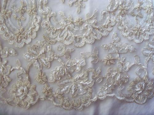 Tela de encaje para vestidos de novia – Vestidos de moda de esta ...