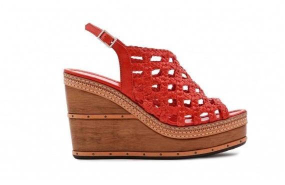 Zapatos con estilo de los años `70