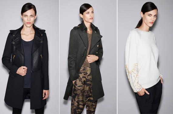 Zara, lookbook octubre 2012
