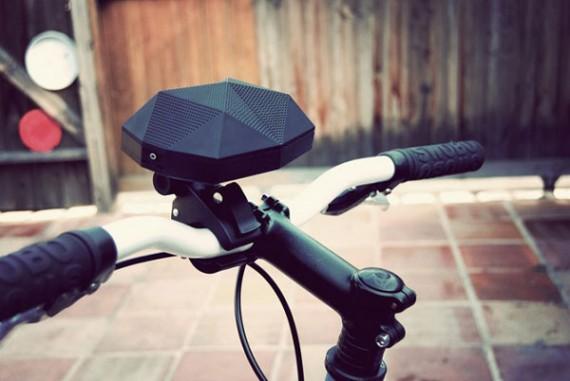 Altavoz para bicicletas
