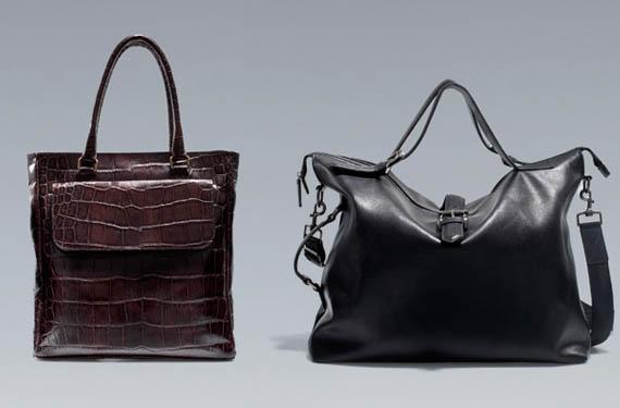 Bolsos Zara hombre
