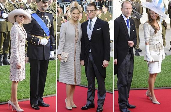 Boda Real de Luxemburgo: invitadas mejor vestidas