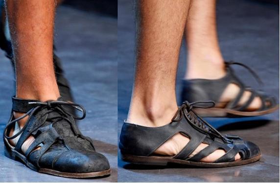 Zapatos para hombres Dolce&Gabbana primavera/verano 2013