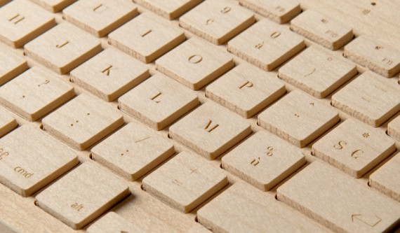 Original teclado de madera