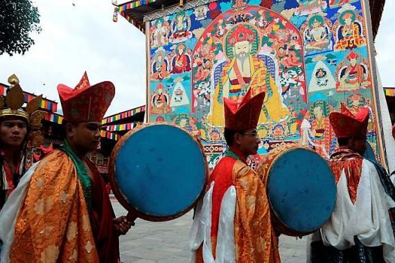 boda en Himalaya