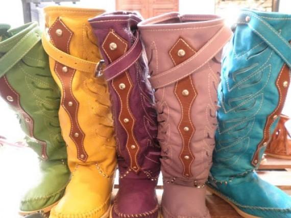 Las botas glamorosas de Héctor para el otoño invierno 2012/2013