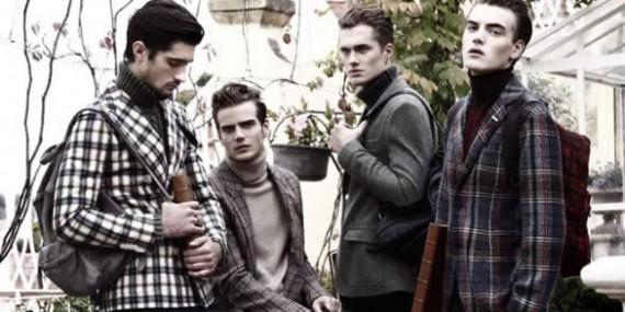Las chaquetas a cuadros, la tendencia masculina para el invierno 2013