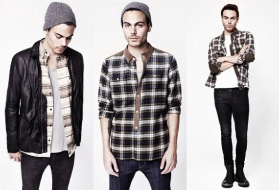 Tendencias de moda para hombre invierno 2013: la ropa de trabajo americana