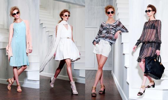 Modelos con zapatos de moda