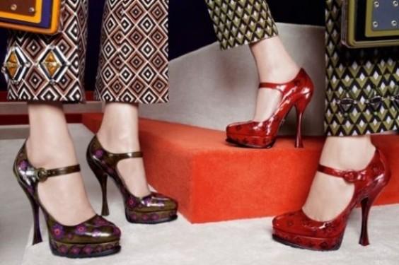Colección de zapatos Prada para el otoño invierno 2012/2013