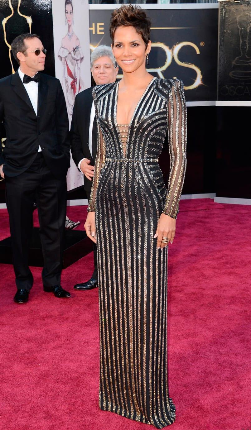 Oscar 2013: El look de Halle Berry