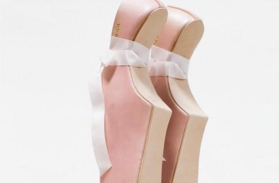 Zapato de ballet lady gaga