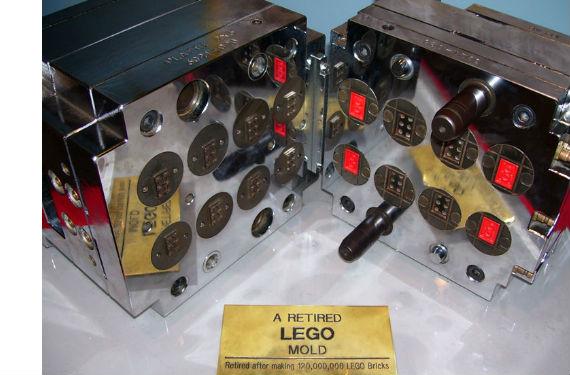 molde de lego