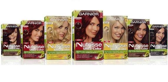 Tintes Garnier