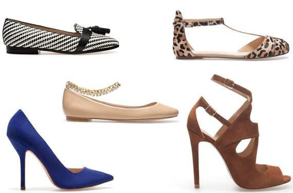 a4ab81db879 Nueva colección de calzado de Zara para la primavera