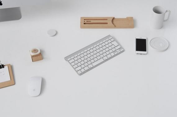 Bandeja de escritorio para la oficina