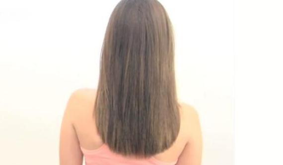 Corte de pelo de mujer redondo