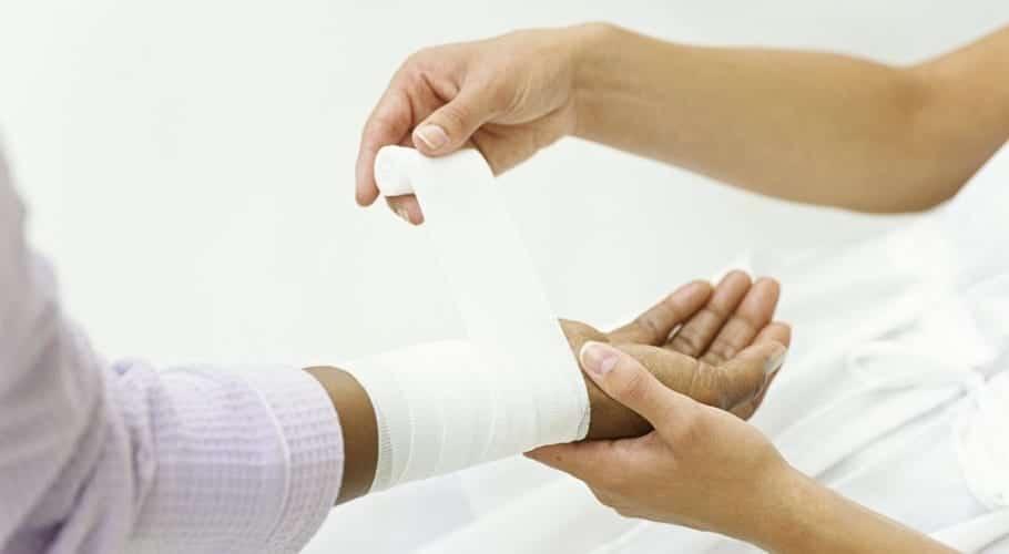Curar una herida