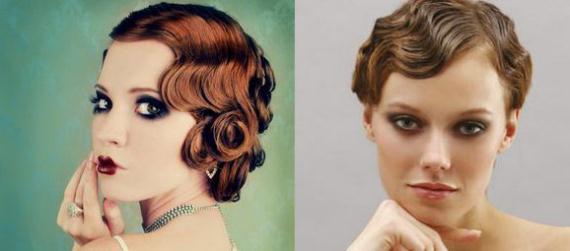 Peinado de años 20