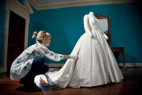 planchar el vestido de novia