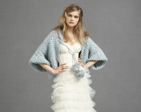 capa de novia de lana 1