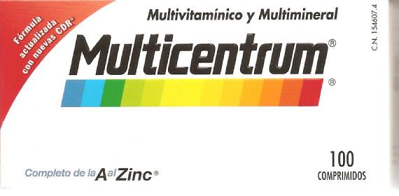 Complejo vitamínico Multicentrum