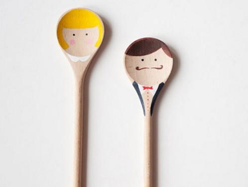 cucharas de pareja