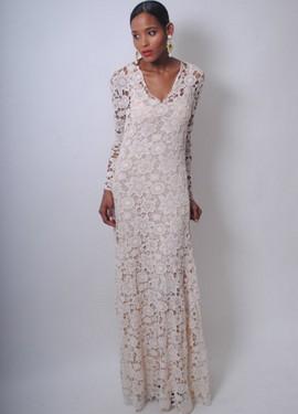 vestido de novia de crochet 2