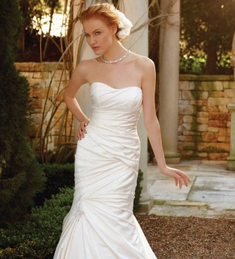 vestido de novia entallado
