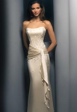 Vestido de novia nude 2