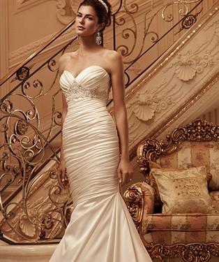 Vestido de novia nude