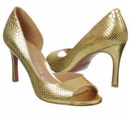zapatos dorados 4
