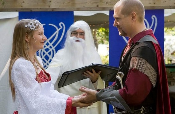 boda El Señor de los Anillos