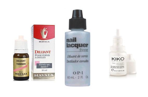 Mavala, O.P.I o KIKO son algunas de las marcas que venden diluyente para esmaltes