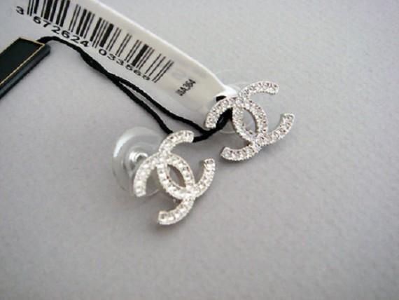 Pendientes de plata Chanel para poner en todas las ocasiones