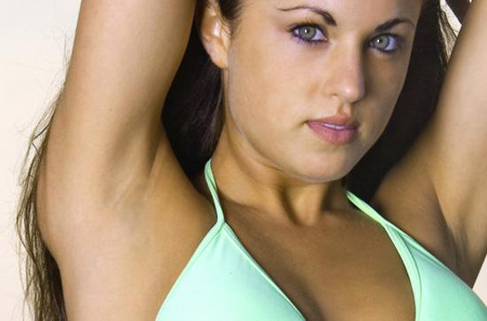 Lovely Young Woman in a Bikini
