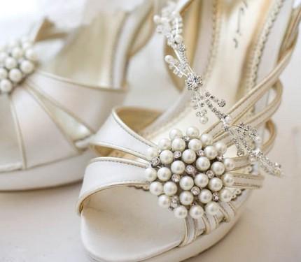 sandalias de boda