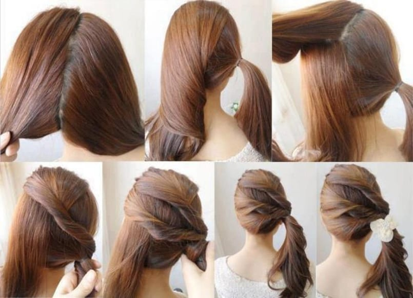 Peinados Faciles Para Ir A La Oficina