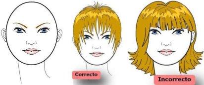 Corte rostro redondo