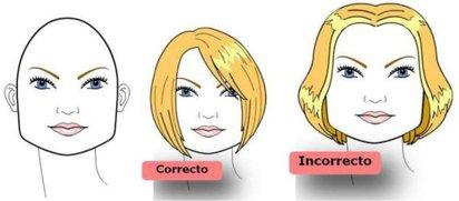 Corte para rostro cuadrado