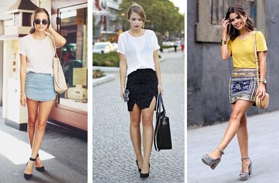Camisetas y faldas