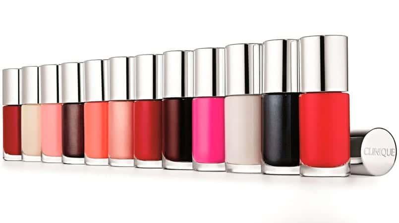 Different Nail Emanel  for Sensitive Skins de Clinique, esmaltes para pieles sensibles