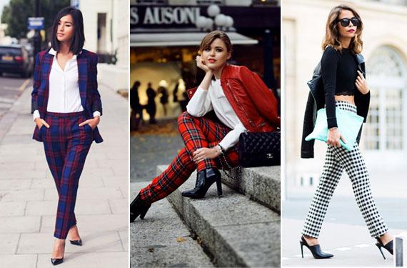 Pantalones De Cuadros Como Los Combino Bezzia