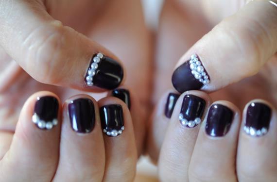 Perlas en tus uñas