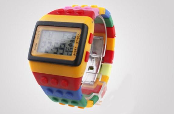 Reloj de Lego para adultos