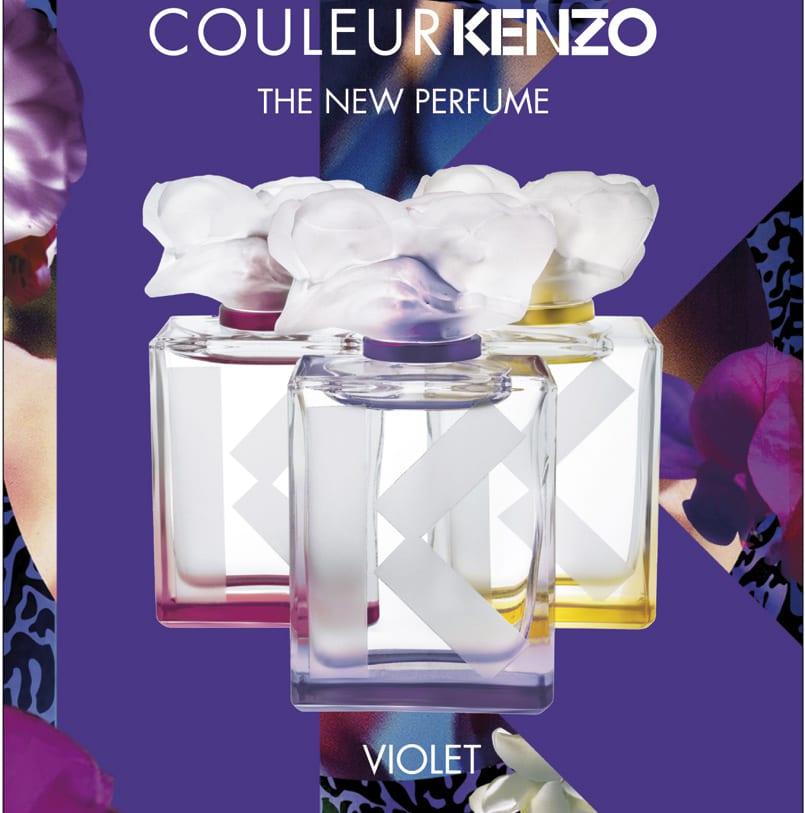 Couleur Violet la nueva fragancia de Kenzo