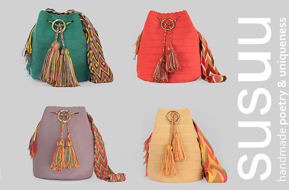más fotos ecad2 cb0a5 Bolsos Susuu, tejidos a mano por mujeres indígenas