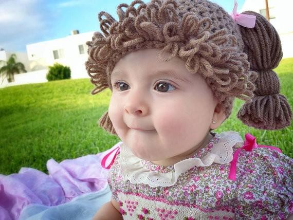 Pelucas muñeca repollo