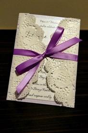 invitaciones de boda de papel artesanal
